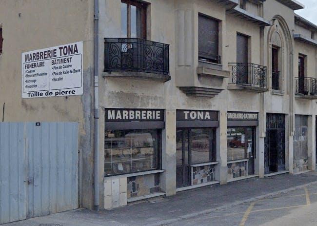 Photographie de la Marbrerie Tona à Aix-les-Bains