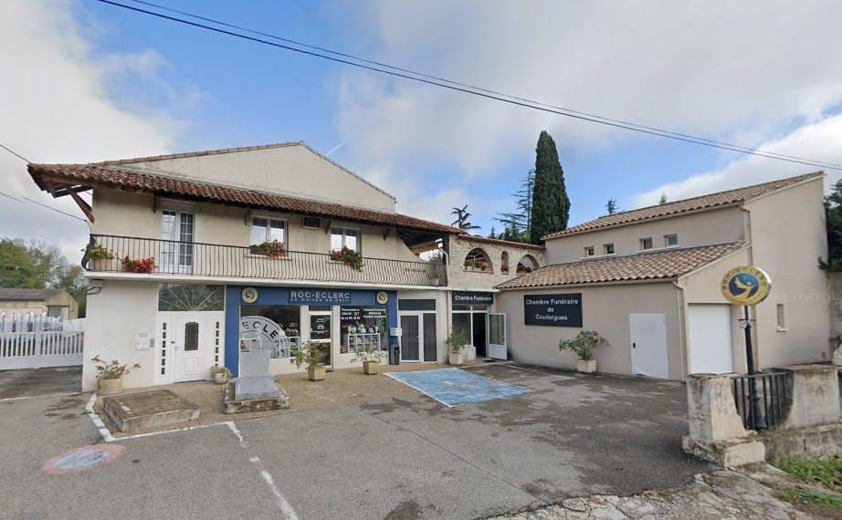 Photographies des Pompes Funèbres Roc'Eclerc à Bagnols-sur-Cèze