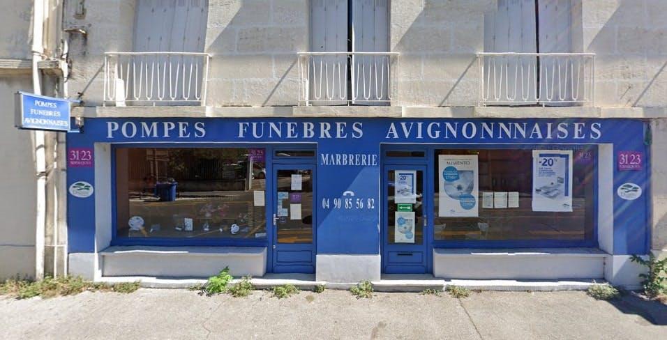 Photographie des Pompes Funèbres et Marbrerie Avignonnaises