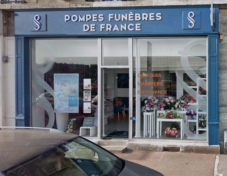 Photographies des Pompes Funèbres de France au Pecq