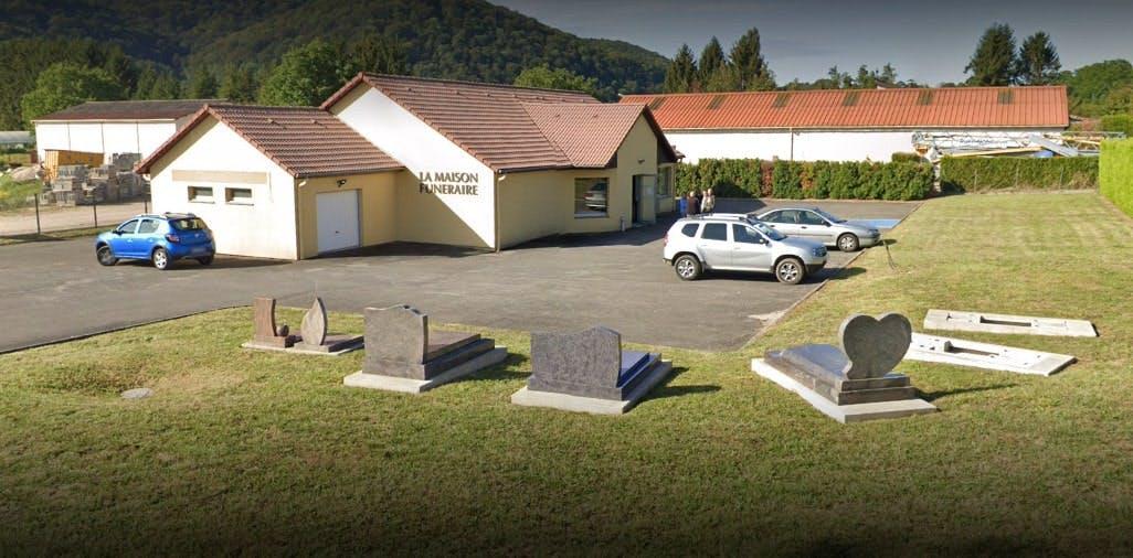 Photographies des Pompes Funèbres Marbrerie de Roche à Roche-lez-Beaupré
