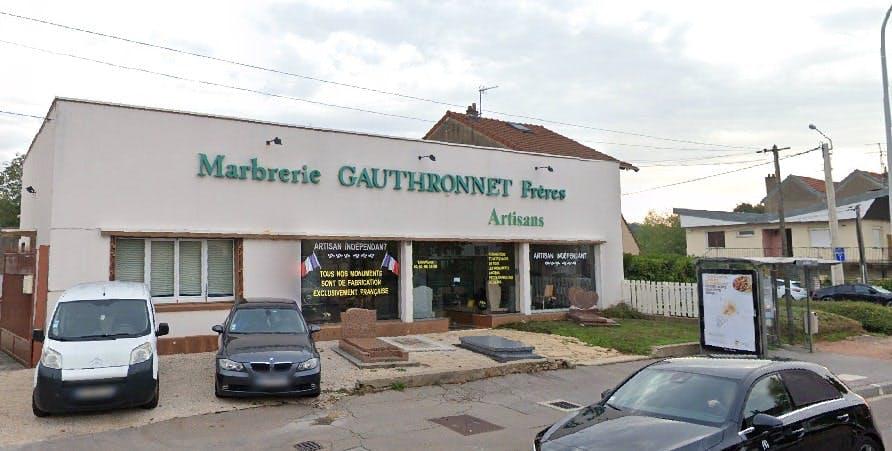 Photographie de la Marbrerie Gauthronnet Frères