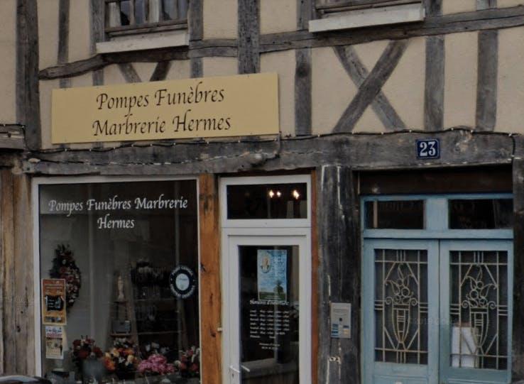 Photographie de Pompes Funèbres  et Marbrerie HERMES de la ville de l`Étrépagny