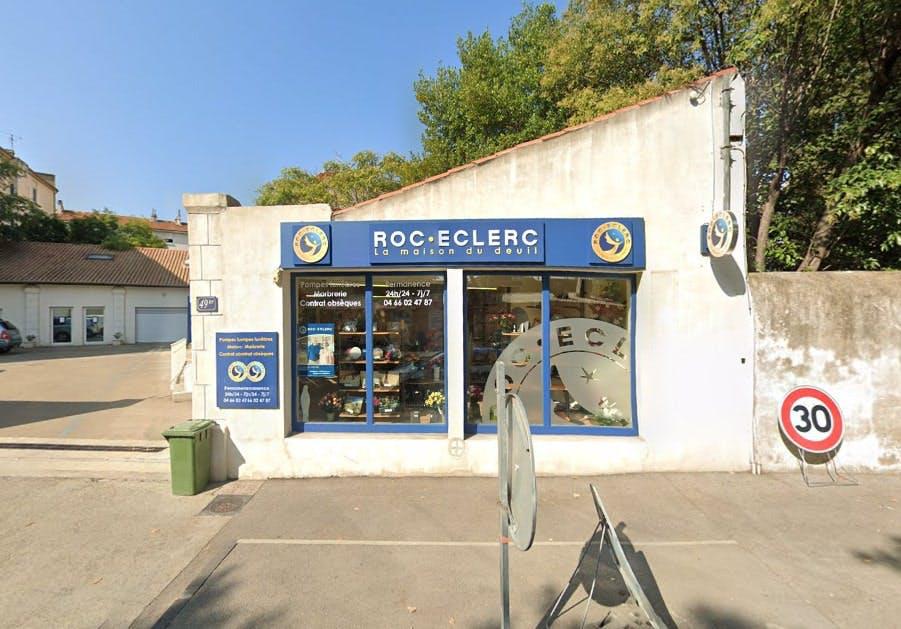 Photographies des Pompes Funèbres Roc'Eclerc à Nîmes