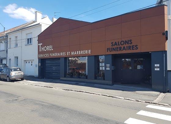 Photographie de la Pompes Funèbres Thorel de la ville de Nœux-les-Mines
