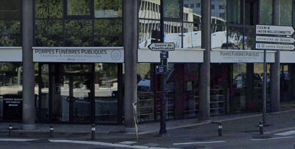 Photographie de la Pompes Funèbres Publiques à Chambéry