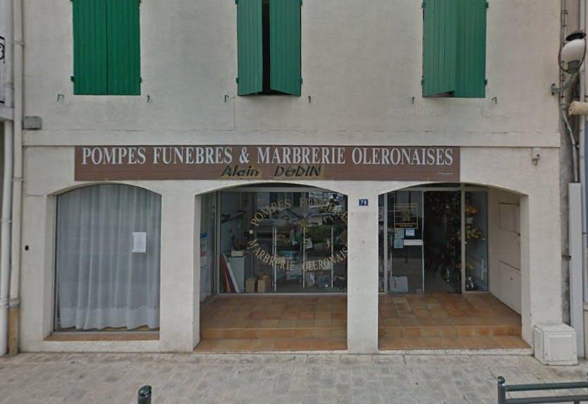 Photographies des Pompes Funèbres et Marbrerie Oléronaises Saint-Pierre-d'Oléron