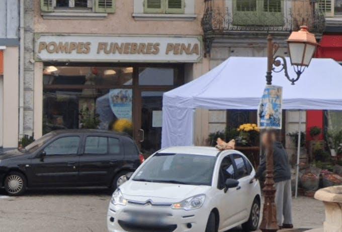 Photographie de la Pompes Funèbres Pena à Saint-Laurent-du-Pont