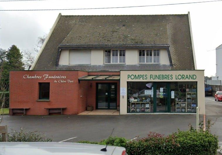 Photographies des Pompes Funèbres Lorand àBain-de-Bretagne