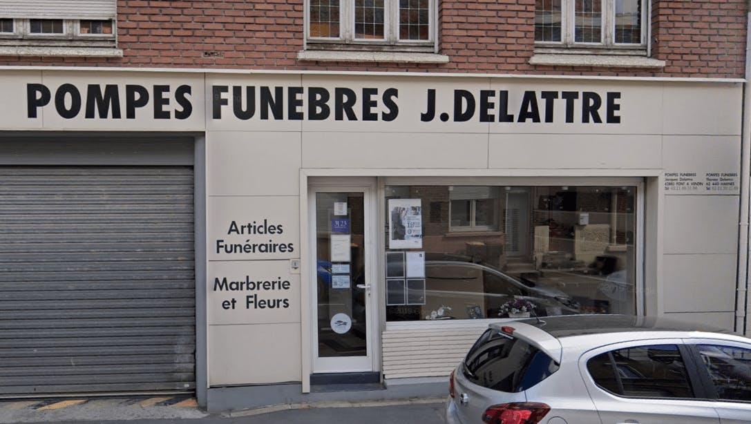 Photographie Pompes Funèbres et Marbrerie Delattre de Pont-à-Vendin