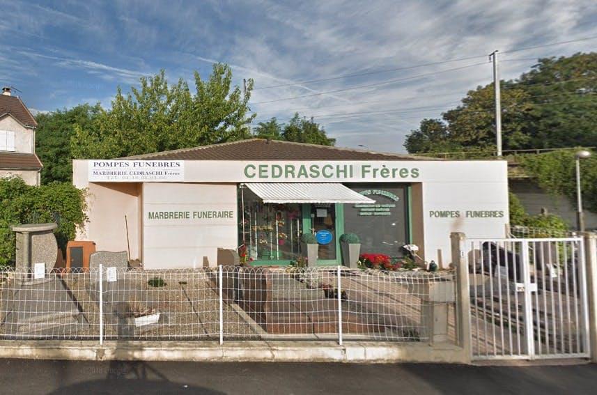 Photographies des Pompes Funèbres Marbrerie Salaün Cedraschi à Bry-sur-Marne