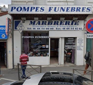 Photographie Pompes Funèbres APFM de Rosny-sous-Bois