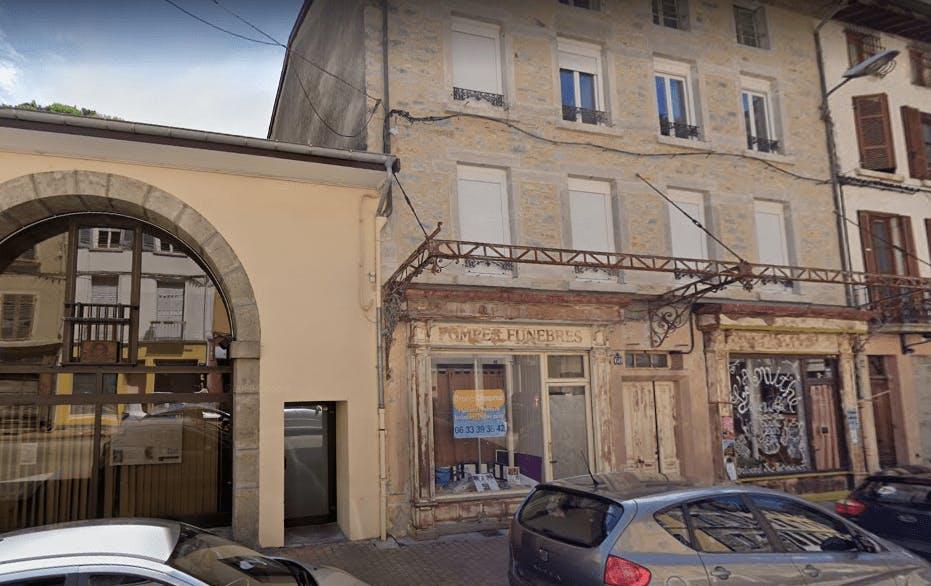 Photographie de Pompes Funèbres Ain Bugey de la ville de Saint-Rambert-en-Bugey