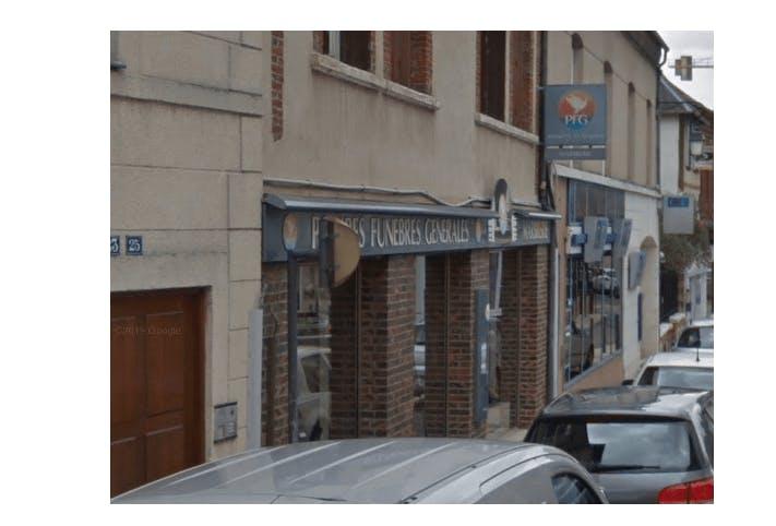 Photographie de la Pompes Funèbres Générales à Bernay
