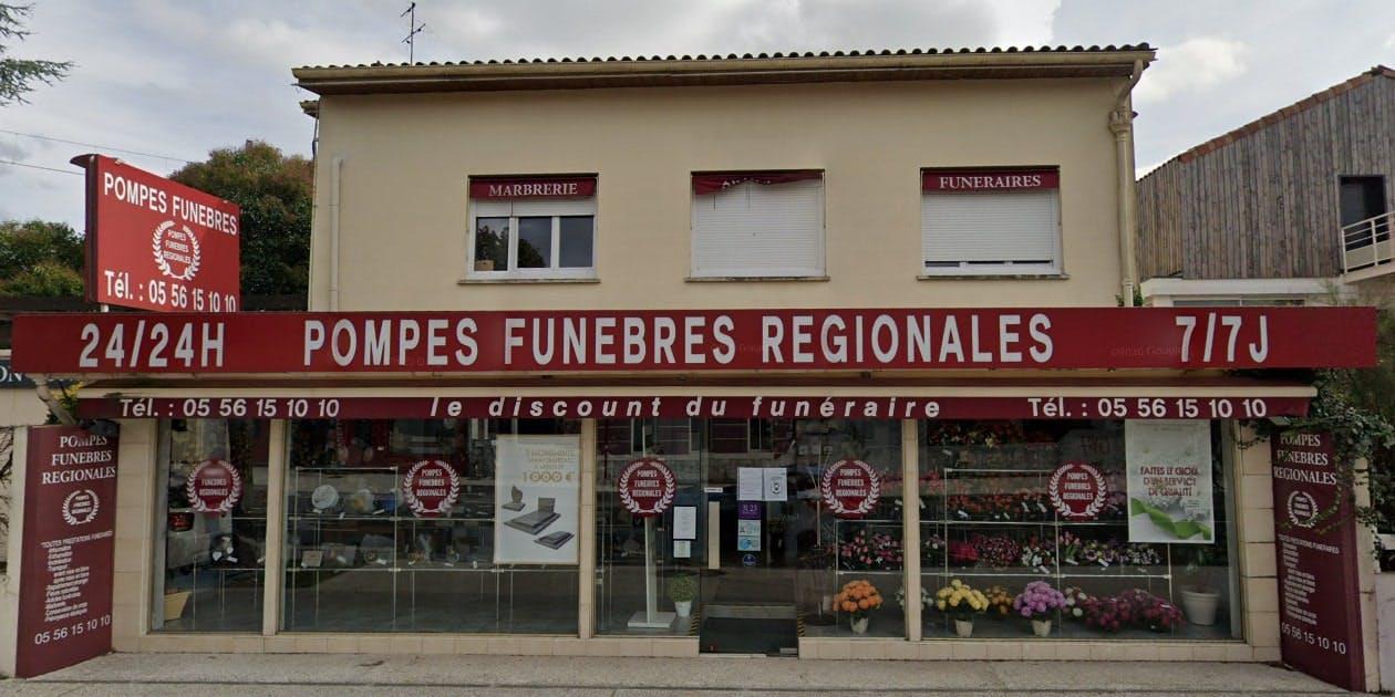 Photographies des Pompes Funèbres Régionales à Pessac