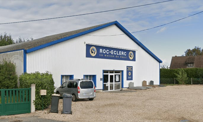 Photographie de la Pompes Funèbres ROC ECLERC à Bernay