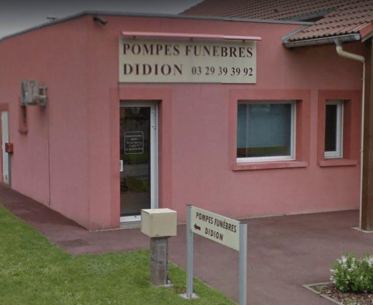 Photographie Pompes Funèbres DIDION de Thaon-les-Vosges