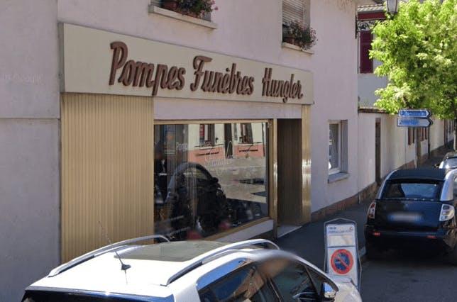 Photographie de la Pompes Funèbres Hungler à Guebwiller