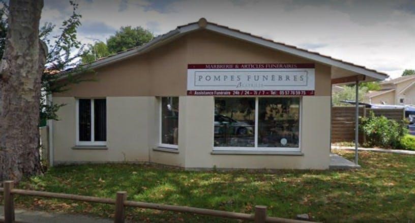 Photographie des Pompes Funèbres Bernard Latrille à Andernos-les-Bains