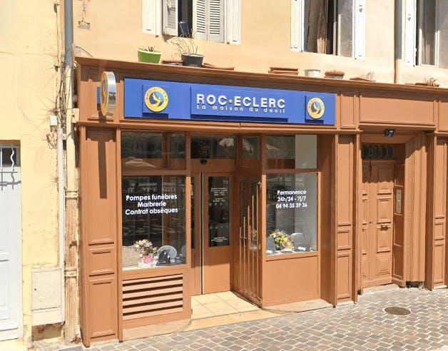 Photographie de la Pompes Funèbres ROC ECLERC à Hyères