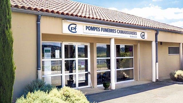Photographies des Pompes Funèbres et Marbrerie Camarguaise à Saint-Dionisy