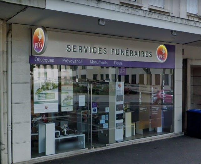 Photographie de la Pompes Funèbres Générales à Saint-Nazaire