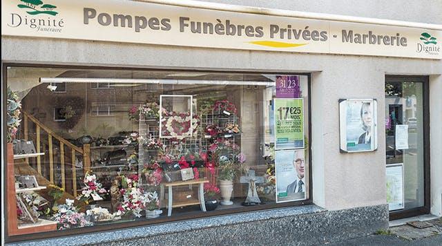 Photographie de la Pompes Funèbres et Marbrerie Privées de la ville d'Issoudun