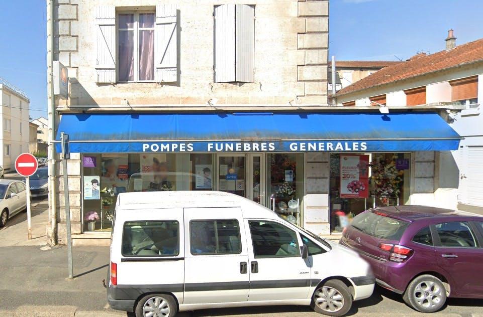 Photographies des Pompes Funèbres Générales à Périgueux