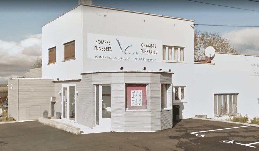 Photographie Pompes Funèbres Voinot de Colombey-les-Belles