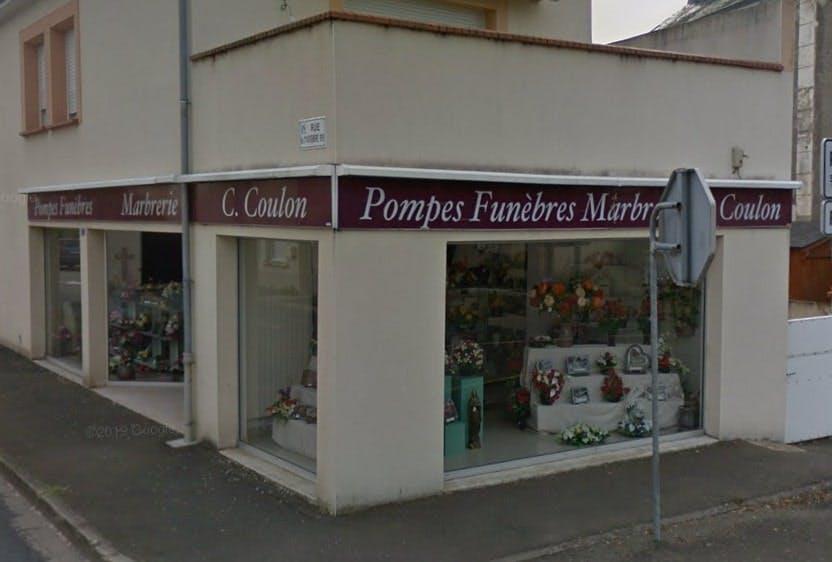 Photographies des Pompes Funèbres Maison Coulon Lebarbier à La Suze-sur-Sarthe