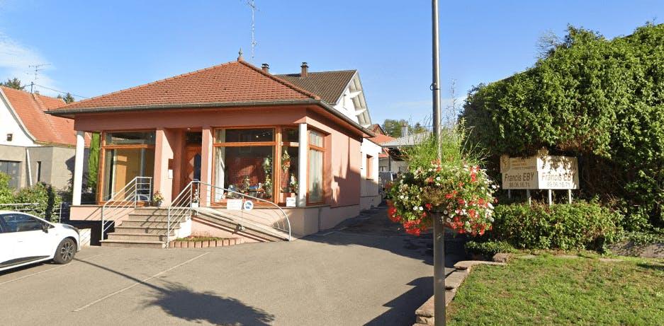 Photographie de la Pompes Funèbres Eby à Brunstatt