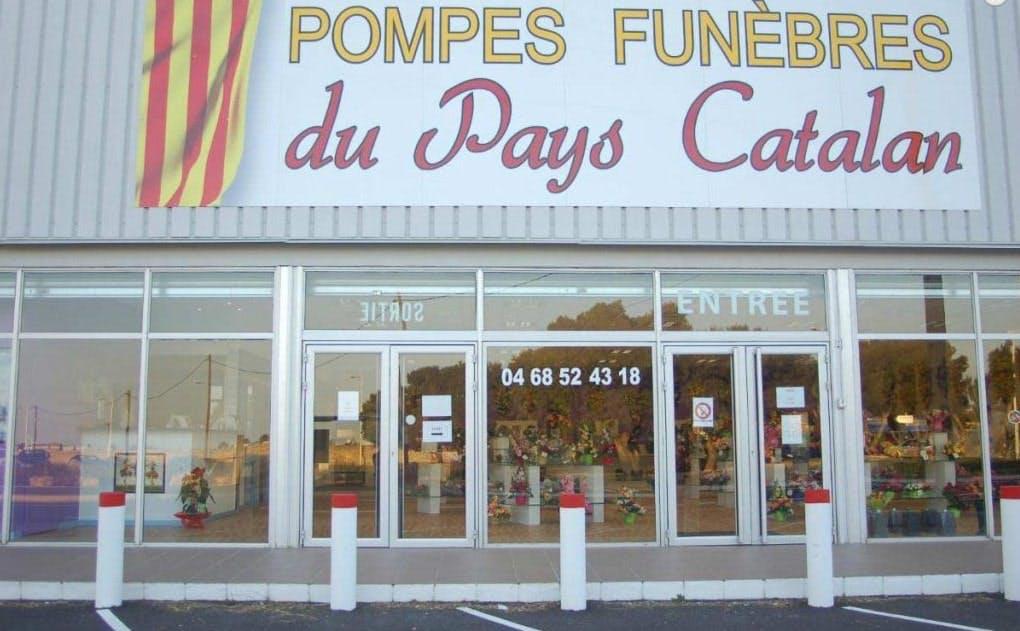 Photographie des Pompes funèbres du pays Catalan