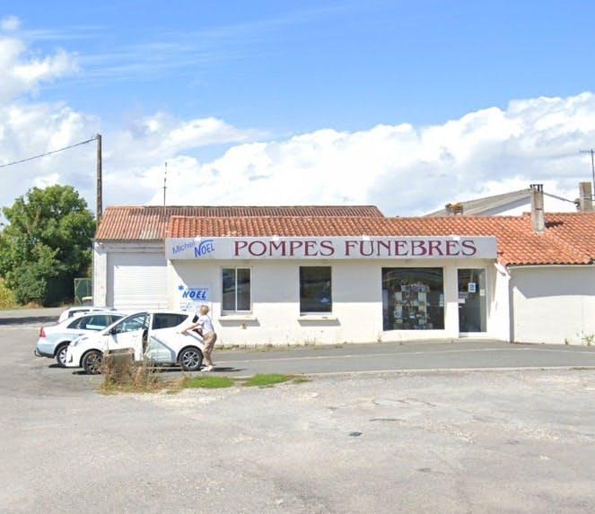Photographies des Pompes Funèbres Michel Noel à Mirambeau