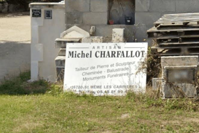 Photographie Marbrerie Michel CHARFFALOT de Saint-Même-les-Carrières