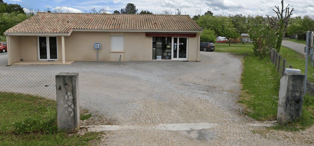 Photographie de la Pompes Funèbres Espaignet de la ville de Castres-Gironde