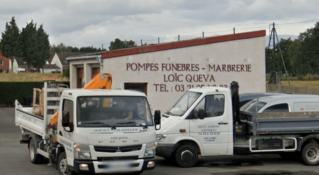 Photographie Pompes Funèbres Marbrerie Loïc QUEVA d'Auchy-les-Mines