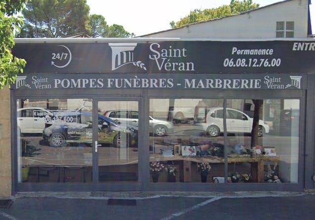 Photographie des Pompes Funèbres Saint Veran à Avignon