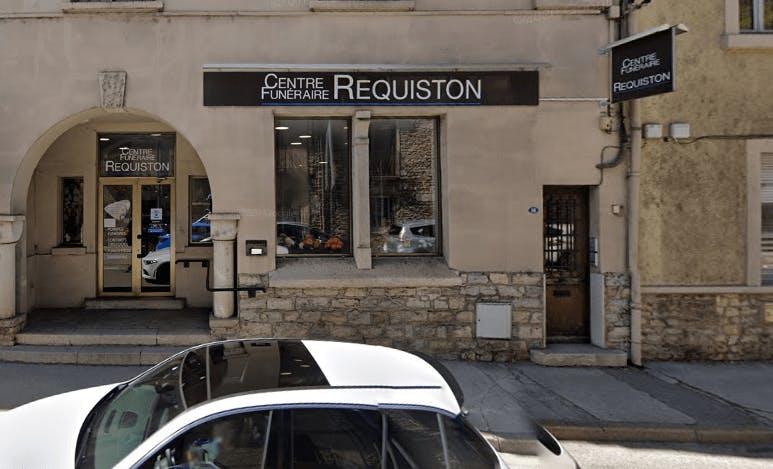 Photographie de la Pompes Funèbres Boudrier à Crémieu