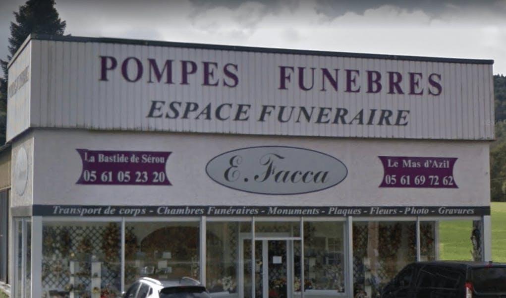 Photographie de Pompes Funèbres Facca Eulalie de la ville de La Bastide-de-Sérou