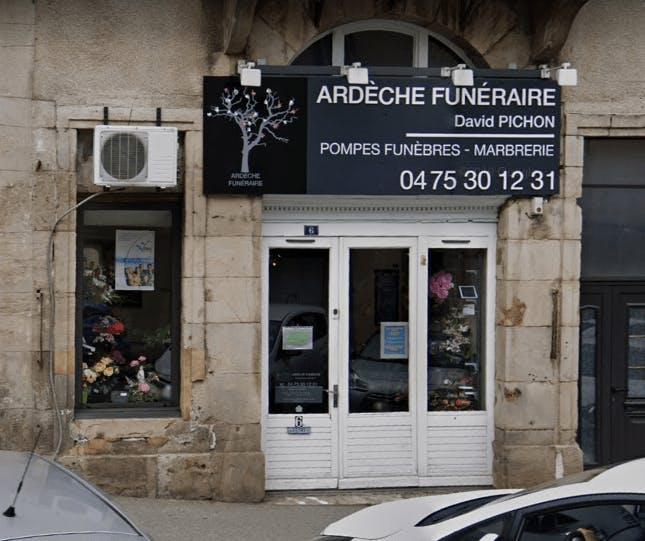 Photographie Pompes Funèbres Marbrerie Ardèche Funéraire de Privas