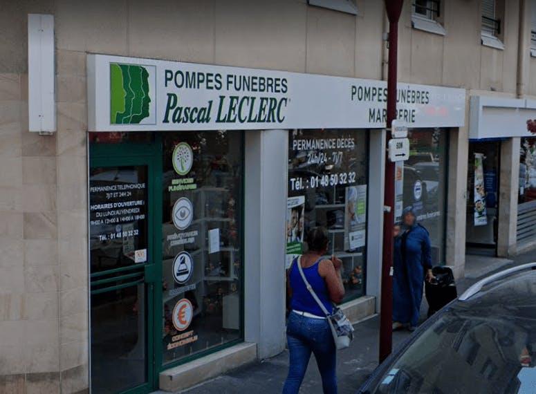 Photographie de la Pompes Funèbre Pascal LECLERC à Le Bondy