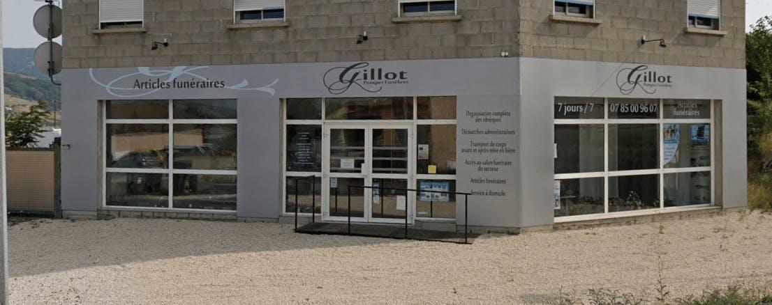 Photographie de la Pompes Funèbres Gillot à Bessenay