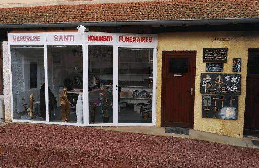 Photographie de la Pompes Funèbres et Marbrerie Santi à Charlieu