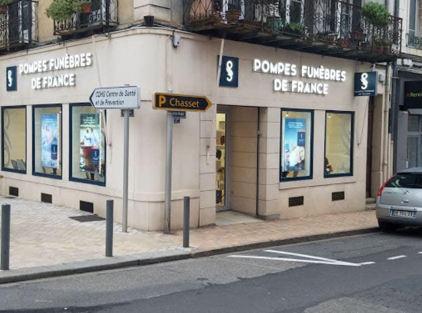 Photographie Pompes funèbres de France Villefranche-sur-Saône