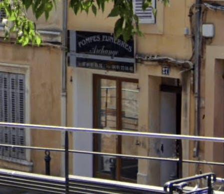 Photographie de la Pompes Funèbres Archange à Aix-en-Provence