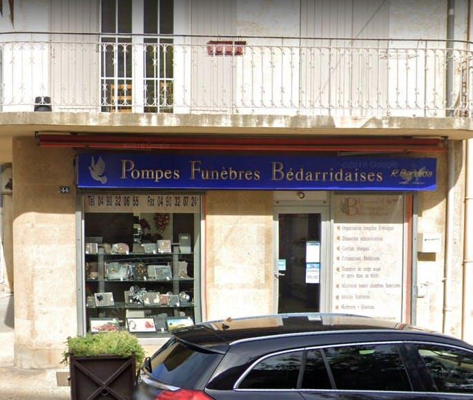 Photographies des Pompes Funèbres Bédarridaises à Bédarrides