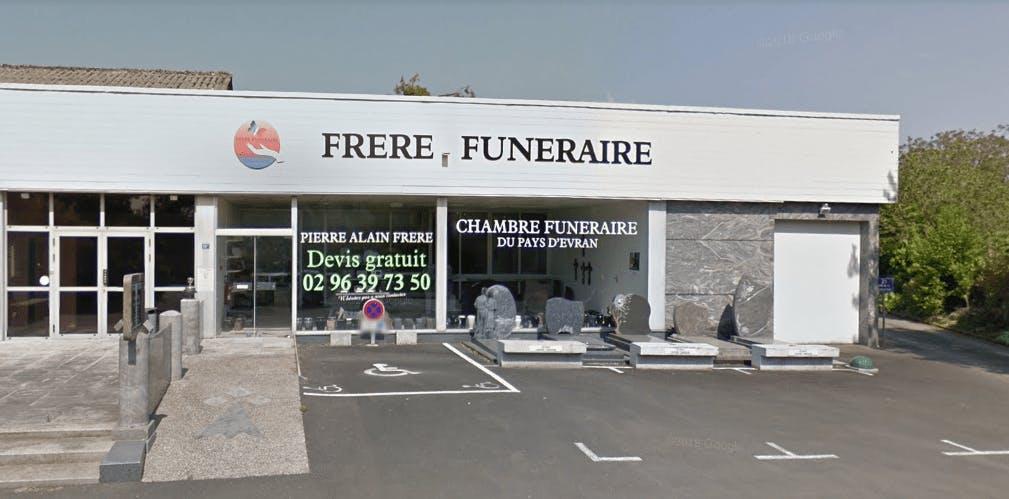 Photographie de la Pompes Funèbres Frère Funéraire à Évran