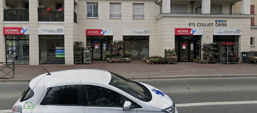Photographie de la Pompes Funèbres et Marbrerie Colliot à Blanc-Mesnil