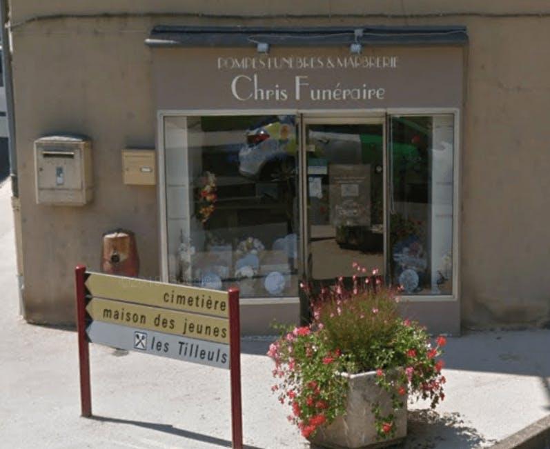 Photographie de la Pompes Funèbres Chris - Viret Folcher de Aubin