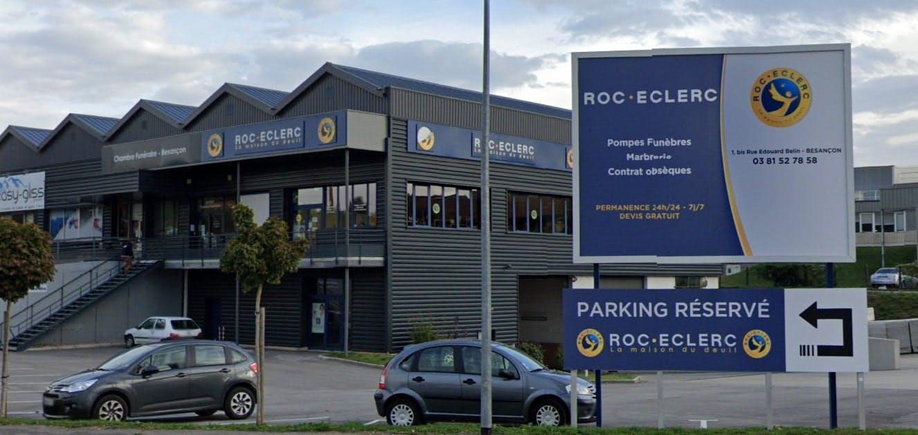 Photographie des Pompes Funèbres Roc-Eclerc à Besançon